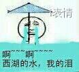 啊-啊-西湖的水我的泪 拿伞哭