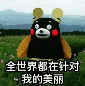 熊本熊:全世界都在针对我的美丽