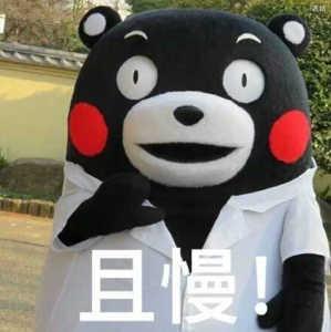 熊本熊:且慢!