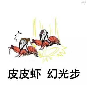 皮皮虾我们走:幻光步